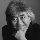 小澤征爾氏のプロフィール写真。